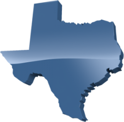 Blue Texas Transparent