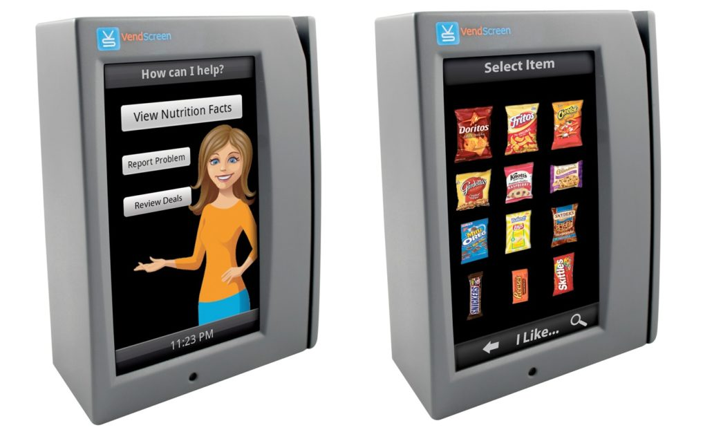 Houston Vending Touchscreen